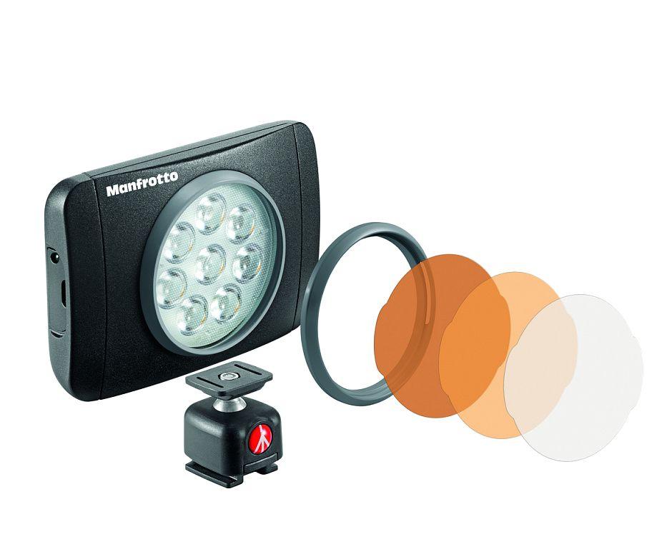 Nikon Manfrotto MLUMIEMU-BK LED Lumie Muse осветитель светодиодный