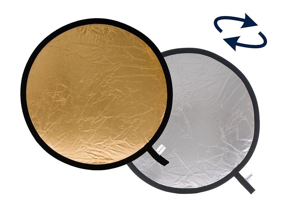 Nikon Lastolite LR3034 отражатель серебряный/золотой 75 смСофтбоксы и рассеиватели<br>Отражатель круглый складной 75 см, поверхности золото/серебро. Фирменный чехол в комплекте.<br> <br> Количество отражающих поверхностей: 2 <br> Форма отражателя: Круглая <br> Размер (см): 75 <br> Цвет: Серебряный/Золотой <br> Производитель: LASTOLITE <br> Вес, г: 460<br><br>Тип: Отражатель<br>Артикул: 84525