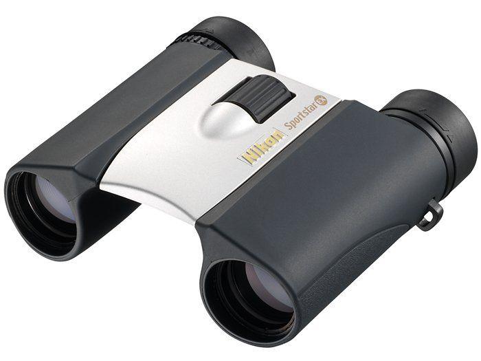Nikon Бинокль Sportstar EX 10x25DCF серебристыйБинокли компактные<br>Когда Вы в движении, то главное для Вас - это удобство. Вот что делает линейку компактных биноклей Nikon столь привлекательной. Достаточно маленькие, чтобы их можно было брать с собой повсюду, они идеально подходят для Вашего очередного отпуска, для к...<br><br>Тип: Бинокль Sportstar EX<br>Диаметр объектива (мм): 25<br>Влагозащищенность: Да<br>Увеличение (x): 10<br>Выходной зрачок (мм): 2.5<br>Вынос точки визирования (мм): 10<br>Относительная яркость: 6.3<br>Минимальное расстояние фокусировки (м): 3.5<br>Реальный угол зрения (°): 6.5<br>Регулировка расстояния между центрами окуляров (мм): 56-72<br>Тип призмы: Roof<br>Питание: Нет<br>Цвет корпуса: Серебристый