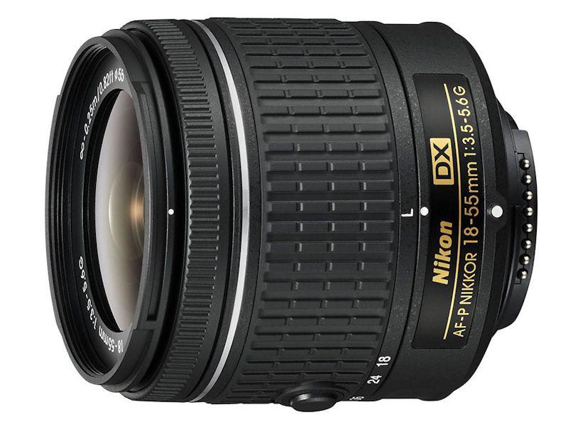 Nikon AF-P DX NIKKOR 18-55mm f/3.5–5.6G