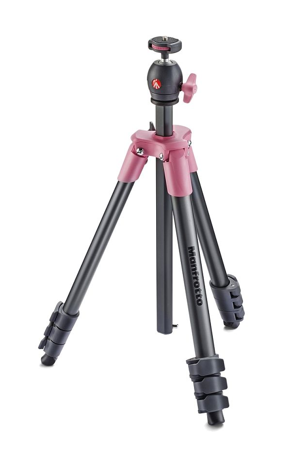 Nikon Manfrotto Штатив для фото-видеокамеры COMPACT LIGHT розовый