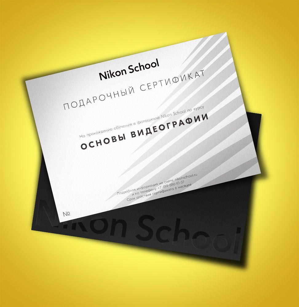 Nikon Курс по основам видеографии фото