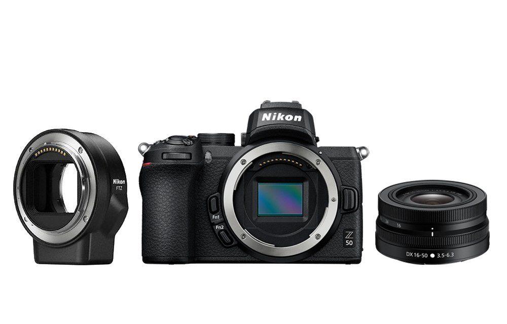 Nikon Фотокамера Z 50 + объектив 16-50/3