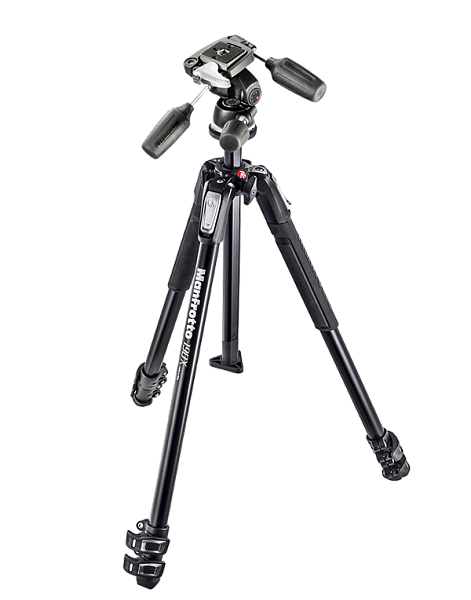 Manfrotto Штатив MK190X3 + головка 804RC2