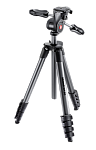 Manfrotto Штатив для фото-видеокамеры COMPACT ADVANCED Черный