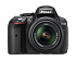 D5300 Kit AF-P DX 18-55mm f/3.5-5.6G VR  Черный