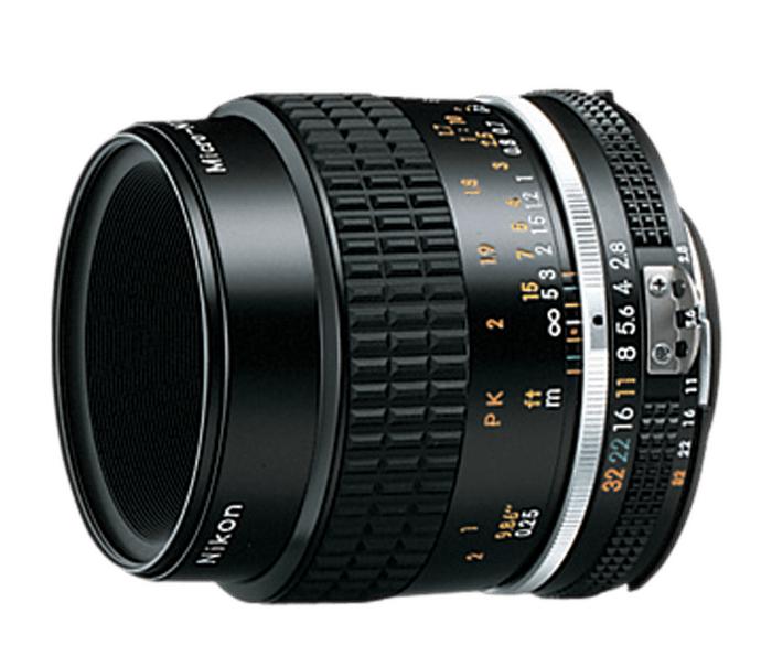 Nikon MF NIKKOR 55mm f/2.8 MicroМакро<br>Великолепный стандартный объектив для макросъёмки с максимальным масштабом съёмки 1:2<br><br>Тип: С фиксированным фокусным расстоянием<br>Фокусное расстояние: 55 мм (82,5 мм в формате DX)<br>Максимальная диафрагма: 2.8<br>Минимальная диафрагма: 32<br>Подавление вибраций: Нет<br>Конструкция объектива: 6 элементов в 5 группах<br>Угол зрения: FX: 43°, DX: 28°50<br>Минимальное расстояние фокусировки: 0,25 м<br>Установочный размер фильтра: 52 мм<br>Артикул: JAA616AB
