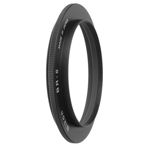 Nikon Переходное кольцо BR-5Аксессуары дл макро съемки<br>Необходимо при использовании ES-1 с объективами, имещими насадочну резьбу 62 мм.<br><br>Тип: Переходное кольцо<br>Артикул: FTW00401