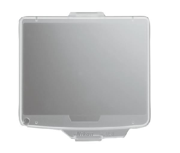 Nikon Крышка монитора BM-8 для D300/D300sЗащита фотокамер<br>Прозрачная пластиковая крышка, прикрепляющаяся к корпусу фотокамеры для защиты ЖК монитора от повреждений. <br> <br> Применяется для фотокамеры серии: D300, D300S<br><br>Тип: Крышка монитора<br>Артикул: VAW19901