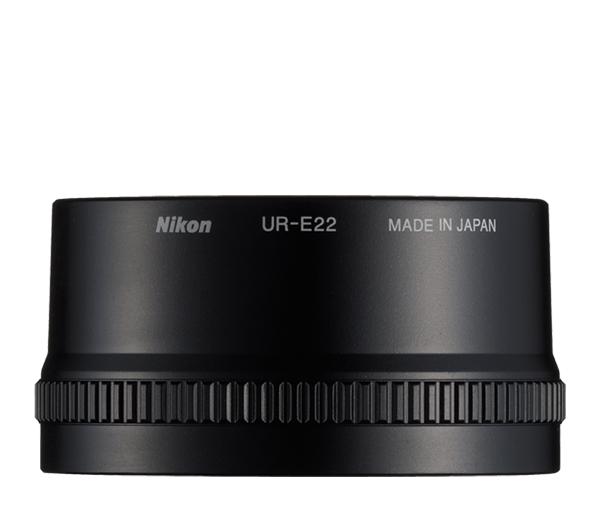Nikon Переходное кольцо UR-E22Оптика дл фотокамер Coolpix<br>Позволет оснащать некоторые модели фотокамер COOLPIX конверторами дл объективов WC-E75A<br> <br> Совместим с камерами: COOLPIX P7000 и COOLPIX P7100<br><br>Тип: Переходное кольцо<br>Артикул: VAW20801