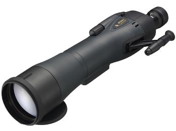 Nikon Зрит.труба Spotting Scope RAIII 82 WPЗрительные трубы<br>Эта высококачественная зрительная труба Spotting Scope обеспечивает отличное соотношение цены и качества. Она оснащена объективом диаметром 82 мм и креплением окуляра байонетного типа, которое позволяет быстро и надежно присоединять окуляры. <br> <br> ВНИМАНИЕ: окуляр к зрительной трубе приобретается отдельно<br><br>Тип: Зрительная труба Spotting Scope<br>Диаметр объектива (мм): 82<br>Влагозащищенность: Да<br>Минимальное расстояние фокусировки (м): 6,1 м<br>Крепление штатива: Штативное гнездо 1/4<br>Тип визирования: Прямой<br>Крепление переходника штатива: Штативное гнездо 1/4<br>Тип крепления окуляра: Байонет<br>Встроенная выдвижная бленда: Да<br>Питание: Нет<br>Артикул: BDA310AA