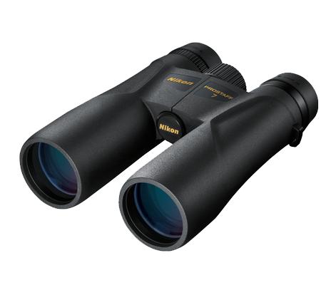 Nikon Бинокль Prostaff 7 8x42Бинокли для охоты и рыбалки<br>Бинокль PROSTAFF 7 8x42 отличается превосходными оптическими характеристиками и стильным дизайном. Благодаря многослойному просветляющему покрытию линз и призм, руф-призмам с фазокорректирующим покрытием и зеркальному покрытию призм с высоким коэффициентом отражения этот бинокль обеспечивает яркое и четкое изображение даже при плохом освещении. <br><br><br> Резиновое покрытие защищает бинокль от ударов и позволяет надежнее держать его в руке во время походов, наблюдения за природой и посещения спортивных мероприятий.<br><br>Тип: Бинокль Prostaff<br>Диаметр объектива (мм): 42<br>Влагозащищенность: Да<br>Увеличение (x): 8<br>Выходной зрачок (мм): 5.3<br>Вынос точки визирования (мм): 19.3<br>Относительная яркость: 28.1<br>Минимальное расстояние фокусировки (м): 4<br>Реальный угол зрения (°): 6.3<br>Регулировка расстояния между центрами окуляров (мм): 56-72<br>Тип призмы: Roof<br>Питание: Нет<br>Артикул: BAA790YA