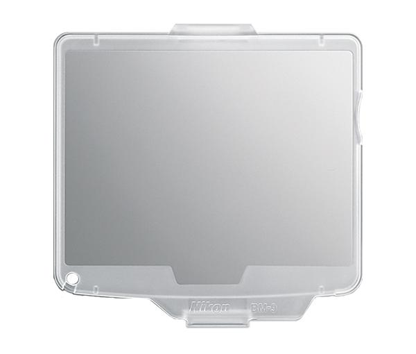 Nikon Крышка монитора BM-9 для D700Защита фотокамер<br>Прозрачная пластиковая крышка, прикрепляющаяся к корпусу фотокамеры для защиты ЖК монитора от повреждений. <br><br>Применяется для зеркальной фотокамеры: D700<br><br>Тип: Крышка монитора<br>Артикул: VBW20001