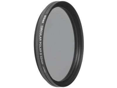 Nikon Поляризационный фильтр 52mm C-PL IIФильтры<br>Этот фильтр позволяет снимать через стекла в окнах, а также уменьшать отражения от водных поверхностей, освещенных солнцем деревьев и травы. Такие фильтры применяются как для цветной, так и для черно-белой фотографии. <br><br><br> Установочный диаметр - 52мм (52mm)<br><br>Производство: Япония<br><br>Тип: Фильтр для объектива<br>Артикул: FTA08001