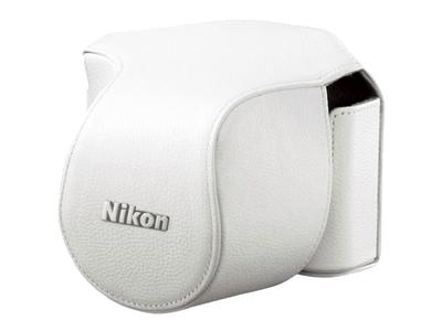 Nikon Чехол CB-N1000SB  для  1 V1 Kit 10-30mm f/3.5-5.6 VR белыйЧехлы, кофры<br>Чехол для Nikon 1 V1 Kit 10-30mm f/3.5-5.6 VR белый<br><br>Тип: Чехол для Nikon 1<br>Артикул: VHL002BW
