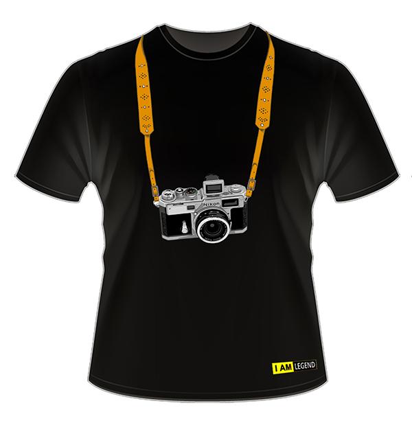 Nikon Футболка с фотоаппаратом  SP (черная)