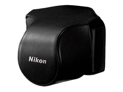 КрасоткаПроЧехол для Nikon 1 V 1 Kit 10 f/2.8 черный<br><br>Тип: Чехол для Nikon 1<br>Артикул: VHL002CW