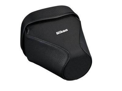 Nikon Чехол CF-DC5 для фотокамер D600, D610Чехлы, кофры<br>Кожаный чехол для защиты фотокамеры при хранении и в<br>поездках.<br><br>Тип: Чехол для зеркальной фотокамеры<br>Артикул: VHF00801
