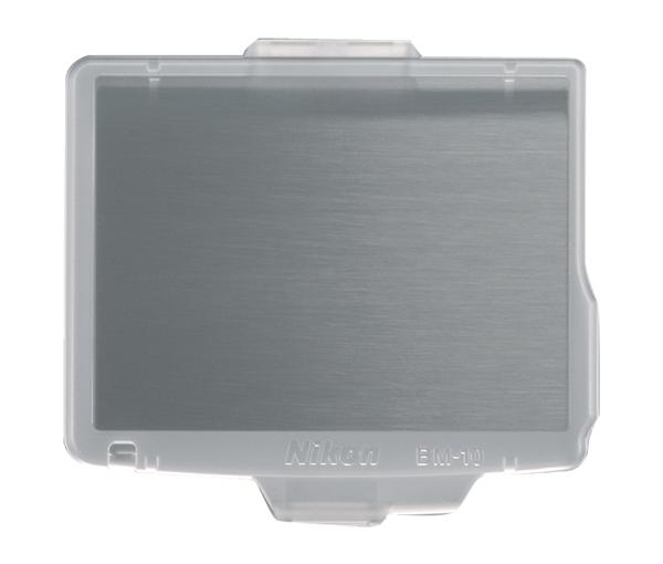 Nikon Крышка монитора BM-10 для D90Защита фотокамер<br>Прозрачная пластиковая крышка, прикрепляющаяся к корпусу фотокамеры для защиты ЖК монитора от повреждений. <br><br>Применяется для зеркальной фотокамеры: D90<br><br>Тип: Крышка монитора<br>Артикул: VBW21001