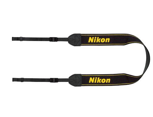 Nikon Ремень для переноски AN-DC2Ремни<br>Удобный наплечный ремень для фотоаппаратов Nikon <br><br>Материал: полиэстер<br><br>Тип: Ремень для фотокамеры<br>Артикул: VXA13084