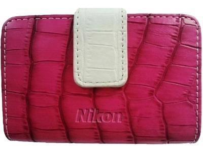 Nikon Чехол CS-S41  для фотокамер Coolpix S-серии розовый