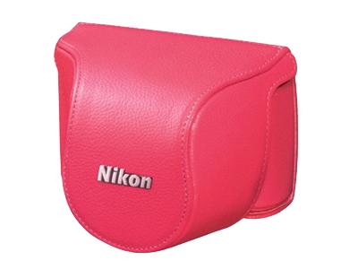 Nikon Чехол CB-N2000SD  для  1 J1/J2 10-30 розовыйЧехлы, кофры<br><br><br>Тип: Чехол для Nikon 1<br>Артикул: VHL003DW