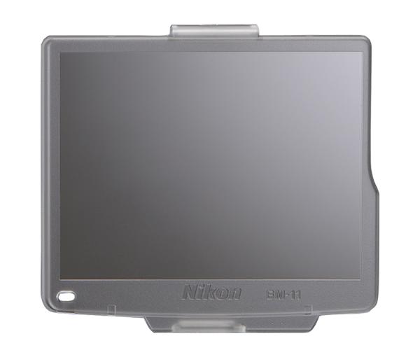 Nikon Крышка монитора BM-11 для D7000Защита фотокамер<br>Прозрачная пластиковая крышка, прикрепляющаяся к корпусу фотокамеры для защиты ЖК монитора от повреждений. <br> <br> Применяется для зеркальной фотокамеры: D7000<br><br>Тип: Крышка монитора<br>Артикул: VBW23001
