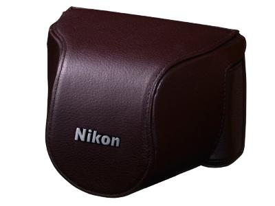 Nikon Чехол CB-N2000SH  для  1 J1/J2 10 коричневый