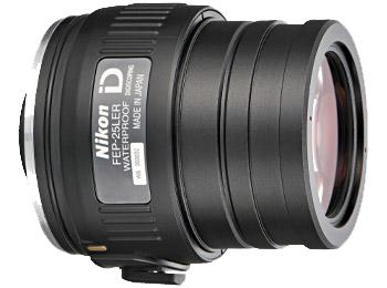 Nikon Окуляр к EDG FEP-25LERОкуляры<br>Обеспечивает получение ярких, высококачественных изображений с 25-кратным увеличением при прикреплении к зрительной трубе модели EDG с объективом диаметром 85 мм и 20-кратным увеличением при прикреплении к модели с объективом диаметром 65 мм. Оснащен креплением байонетного типа c блокировкой, обеспечивающей быстрое и надежное прикрепление к зрительной трубе. Отличается исключительно большим выносом выходного зрачка, что делает окуляр идеальным выбором для зарисовки эскизов или для тех, кто носит очки.<br><br><br> Увеличение: 25-кратное при прикреплении к зрительной трубе EDG 85 и 20-кратное при прикреплении к зрительной трубе EDG 65.<br><br><br> Байонет с блокировкой обеспечивает быстрое и надежное прикрепление.<br><br><br> Линзы с многослойным покрытием уменьшают внутренние отражения и засветку, обеспечивая превосходное пропускание света и получение резкого, высококачественного изображения.<br><br><br> Асферические элементы объектива обеспечивают получение ярких, высококачественных изображений с прекрасным цветовым балансом и минимальным искажением.<br><br><br> Водозащита (до 2 м в течение 10 минут) и защита от запотевания с применением уплотнительных колец и азота.<br><br><br> Сверхбольшой вынос выходного зрачка: 32,3 мм.<br><br><br> Обеспечивается совместимость со специальными переходниками байонета окуляра зрительной трубы FEP.<br><br><br> Предназначен для цифроскопии с определенными фотокамерами Nikon COOLPIX.<br><br>Тип: Окуляр к зрительной трубе<br>Артикул: BDB806AA
