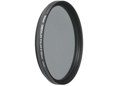 Nikon Поляризационный фильтр 58mm C-PL IIФильтры<br>Этот фильтр позволяет снимать через стекла в окнах, а также уменьшать отражения от водных поверхностей, освещенных солнцем деревьев и травы. Такие фильтры применяются как для цветной, так и для черно-белой фотографии. <br><br>Установочный диаметр - 58мм (58mm)<br><br>Производство: Япония<br><br>Тип: Фильтр для объектива<br>Артикул: FTA70301