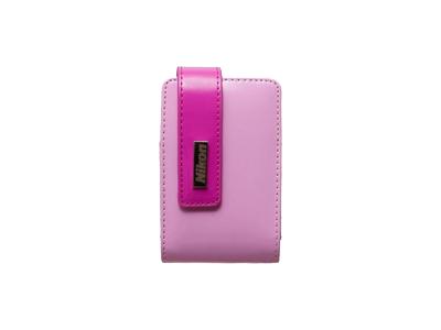 Nikon Чехол CS-S47  для фотокамер Coolpix S-серии темно-розовый