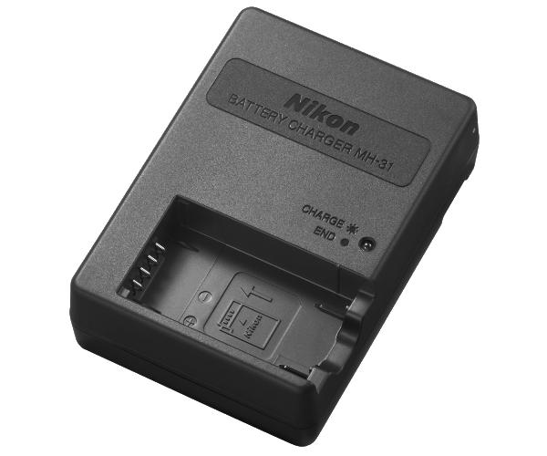 Nikon Зарядное устройство MH-31Питание фотокамер<br>Зарядное устройство, предназначенное для зарядки литий-ионных аккумуляторных батарей EN-EL24.<br><br>Тип: Быстрое зарядное устройство<br>Артикул: VEA023EA