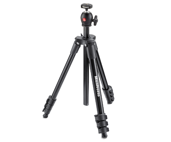 Nikon Manfrotto Штатив для фото-видеокамеры COMPACT LIGHT чёрный