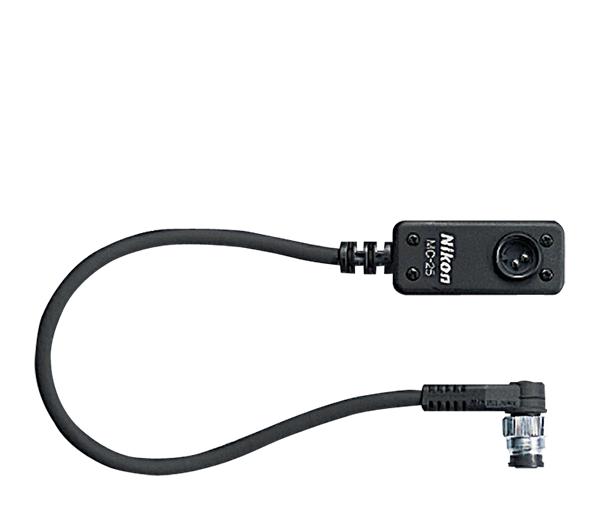 Nikon Кабель-переходник MC-25 (0,2 м)Аксессуары для подключения<br>Для использования 2-контактных принадлежностей для дистанционного управления. <br><br><br>Переходник: 10 контактов / 2 контакта<br><br>Кабель с 10-контактным разъемом для подключения фотокамеры к устройствам с 2-контактным разъемом, например, к пульту радиоуправления MW-2, интервалометру MT-2 или пульту дистанционного управления ML-2 (длина 20 см) <br><br><br>Предназначен для фотокамеры серии: F100, F5, F6, D100, D200, D300, D300S, D700, D1, D2X, D2H, D2Xs, D2Hs, D3, D3S, D3x<br><br>Тип: Кабель<br>Артикул: FRG20701