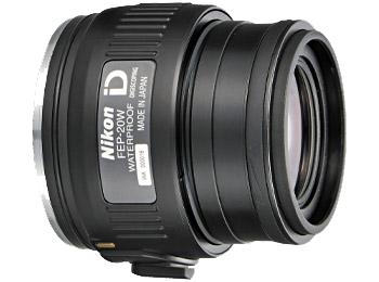 Nikon Окуляр к EDG FEP-20WОкуляры<br>Обеспечивает получение ярких, высококачественных изображений с 20-кратным увеличением при прикреплении к модели с объективом диаметром 85 мм и 16-кратным увеличением при прикреплении к модели с объективом диаметром 65 мм. Оснащен креплением байонетного типа с фиксацией для быстрого и надежного прикрепления к зрительной трубе и поворотно-выдвижным наглазником, позволяющим удобно расположить правильную точку фокуса видоискателя относительно глаз.<br><br><br> Увеличение: 20-кратное при прикреплении к зрительной трубе EDG 85 и 16-кратное при прикреплении к зрительной трубе EDG 65.<br><br><br> Байонет с блокировкой обеспечивает быстрое и надежное прикрепление.<br><br><br> Линзы с многослойным покрытием уменьшают внутренние отражения и засветку, обеспечивая превосходное пропускание света и получение резкого, высококачественного изображения.<br><br><br> Асферические элементы объектива обеспечивают получение ярких, высококачественных изображений с прекрасным цветовым балансом и минимальным искажением.<br><br><br> Водозащита (до 2 метров в течение 10 минут) и защита от запотевания с применением уплотнительных колец и азота.<br><br><br> Поворотно-выдвижной наглазник с фиксируемыми положениями позволяет удобно расположить правильную точку фокуса видоискателя относительно глаз.<br><br><br> Вынос выходного зрачка: 20,1 мм.<br><br><br> Обеспечивается совместимость со специальными переходниками байонета окуляра зрительной трубы.<br><br><br> Предназначен для цифроскопии с определенными фотокамерами Nikon COOLPIX.