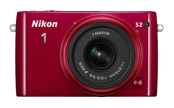 Nikon   1 S2 Kit 11-27.5mm f/3.5–5.6 КрасныйФотокамеры NIKON 1<br>С яркой фотокамерой Nikon 1 S2 вы всегда будете в центре внимания. Эта быстрая, компактная, стильная и простая в использовании системная фотокамера выглядит так же прекрасно, как и динамичные снимки и видеоролики HD, созданные с ее помощью. <br> <br>...<br><br>Тип: Цифровая фотокамера, поддерживающая использование сменных объективов<br>Формат матрицы: CX<br>Тип матрицы, размер: КМОП: 13,2 x 8,8 мм<br>Эффективное число пикселей: 14,2 млн<br>Процессор (АЦП): EXPEED 4a<br>Чувствительность ISO: От 200 до 12 800, с шагом 1 EV<br>Автофокусировка: Гибридная автофокусировка (одноточечная АФ: 135 зон фокусировки; центральные 73 зоны поддерживают АФ с определением фазы, автоматический выбор зоны АФ: 41 зона фокусировки)<br>Режим зоны автофокуса: Одноточечная АФ, автоматический выбор зоны АФ, ведение объекта<br>Выдержка синхронизации: Не менее 1/60 с (электронный затвор)<br>Режимы съемки: «Авто»; «Фильтр сглаживания», «Эффект миниатюры», «Выборочный цвет», «Кросспроцесс», «Эффект игрушечной камеры» (творческий режим): вспышка раскрывается и срабатывает автоматически при необходимости; P: программный автоматический режим, S: автоматический режим с приоритетом выдержки, A: автоматический режим с приоритетом диафрагмы, M: ручной режим (творческий режим): вспышка раскрывается вручную<br>Контроль экспозиции: «Авто»; «Фильтр сглаживания», «Эффект миниатюры», «Выборочный цвет», «Кросспроцесс», «Эффект игрушечной камеры» (творческий режим): вспышка раскрывается и срабатывает автоматически при необходимости; P: программный автоматический режим, S: автоматический режим с приоритетом выдержки, A: автоматический режим с приоритетом диафрагмы, M: ручной режим (творческий режим): вспышка раскрывается вручную<br>Коррекция экспозиции: От -3 до +3 EV с шагом 1/3 EV<br>Баланс белого: Авто, лампа накаливания, лампа дневного света, прямой солнечный свет, вспышка, облачное небо, тень, под водой и ручная предустановка; для всех режим