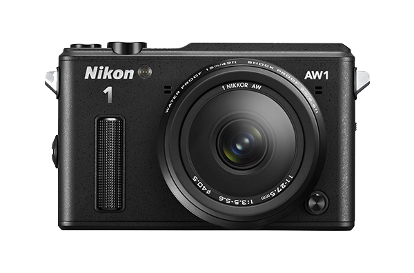 Nikon   1 AW1 Kit 11-27.5mm f/3.5–5.6 ЧерныйФотокамеры NIKON 1<br>Водонепроницаемая, ударопрочная, морозостойкая и удивительно быстрая фотокамера Nikon 1 AW1 никогда вас не подведет. Куда бы вы ни отправились — на горнолыжный курорт, в путешествие на яхте или на захватывающее сафари, эта системная фотокамера всегда ...<br><br>Тип: Цифровая фотокамера, поддерживающая использование сменных объективов<br>Формат матрицы: CX<br>Тип матрицы, размер: КМОП: 13,2 x 8,8 мм<br>Эффективное число пикселей: 14,2 млн<br>Процессор (АЦП): EXPEED 3a<br>Чувствительность ISO: От 160 до 6400 единиц ISO с шагом 1 EV (задается пользователем в режимах P, S, A и M)<br>Автофокусировка: Гибридная автофокусировка (одноточечная АФ: 135 зон фокусировки; центральные 73 зоны поддерживают АФ с определением фазы Автоматический выбор зоны АФ: 41 зона фокусировки)<br>Режим зоны автофокуса: Одноточечная АФ, одноточечная АФ (по центру), автоматический выбор зоны АФ, ведение объекта<br>Выдержка синхронизации: Не менее 1/60 с (электронный затвор)<br>Режимы съемки: Авто; творческий режим с возможностью выбора таких параметров: P, S, A, M, Под водой, Ночной пейзаж, Ночной портрет, Освещение сзади, Простая панорама, Фильтр сглаживания, Эффект миниатюры и Выборочный цвет; Съемка лучшего момента (Замедленный просмотр и Интеллектуальный выбор снимка), Расширенный режим видео (HD — только в режимах P, S, A, M и «Замедленная съемка»), Моментальный снимок движения<br>Контроль экспозиции: Авто; творческий режим с возможностью выбора таких параметров: P, S, A, M, Под водой, Ночной пейзаж, Ночной портрет, Освещение сзади, Простая панорама, Фильтр сглаживания, Эффект миниатюры и Выборочный цвет; Съемка лучшего момента (Замедленный просмотр и Интеллектуальный выбор снимка), Расширенный режим видео (HD — только в режимах P, S, A, M и «Замедленная съемка»), Моментальный снимок движения<br>Коррекция экспозиции: От -3 до +3 EV с шагом 1/3 EV<br>Баланс белого: Авто, под водой, лампа накаливания, лампа дневного света, прямой
