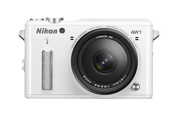 Nikon   1 AW1 Kit 11-27.5mm f/3.5–5.6 БелыйФотокамеры NIKON 1<br>Водонепроницаемая, ударопрочная, морозостойкая и удивительно быстрая фотокамера Nikon 1 AW1 никогда вас не подведет. Куда бы вы ни отправились — на горнолыжный курорт, в путешествие на яхте или на захватывающее сафари, эта системная фотокамера всегда ...<br><br>Тип: Цифровая фотокамера, поддерживающая использование сменных объективов<br>Формат матрицы: CX<br>Тип матрицы, размер: КМОП: 13,2 x 8,8 мм<br>Эффективное число пикселей: 14,2 млн<br>Процессор (АЦП): EXPEED 3a<br>Чувствительность ISO: От 160 до 6400 единиц ISO с шагом 1 EV (задается пользователем в режимах P, S, A и M)<br>Автофокусировка: Гибридная автофокусировка (одноточечная АФ: 135 зон фокусировки; центральные 73 зоны поддерживают АФ с определением фазы Автоматический выбор зоны АФ: 41 зона фокусировки)<br>Режим зоны автофокуса: Одноточечная АФ, одноточечная АФ (по центру), автоматический выбор зоны АФ, ведение объекта<br>Выдержка синхронизации: Не менее 1/60 с (электронный затвор)<br>Режимы съемки: Авто; творческий режим с возможностью выбора таких параметров: P, S, A, M, Под водой, Ночной пейзаж, Ночной портрет, Освещение сзади, Простая панорама, Фильтр сглаживания, Эффект миниатюры и Выборочный цвет; Съемка лучшего момента (Замедленный просмотр и Интеллектуальный выбор снимка), Расширенный режим видео (HD — только в режимах P, S, A, M и «Замедленная съемка»), Моментальный снимок движения<br>Контроль экспозиции: Авто; творческий режим с возможностью выбора таких параметров: P, S, A, M, Под водой, Ночной пейзаж, Ночной портрет, Освещение сзади, Простая панорама, Фильтр сглаживания, Эффект миниатюры и Выборочный цвет; Съемка лучшего момента (Замедленный просмотр и Интеллектуальный выбор снимка), Расширенный режим видео (HD — только в режимах P, S, A, M и «Замедленная съемка»), Моментальный снимок движения<br>Коррекция экспозиции: От -3 до +3 EV с шагом 1/3 EV<br>Баланс белого: Авто, под водой, лампа накаливания, лампа дневного света, прямой 