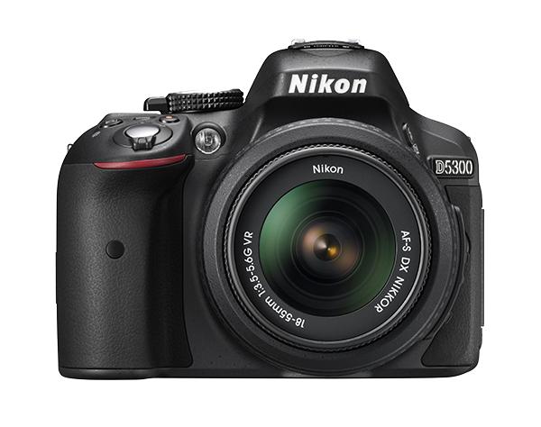 Nikon  D5300 Kit AF-S DX 18-55mm f/3.5-5.6G VR II  Черный
