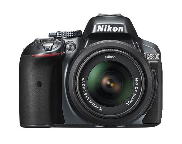 Nikon  D5300 Kit AF-S DX 18-55mm f/3.5-5.6G VR II  Серебристый