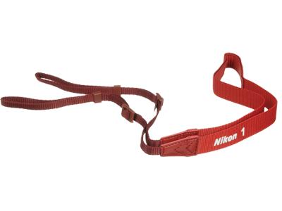 Nikon  Ремень AN-N1000 КрасныйРемни<br>Совместимые камеры: система Nikon 1<br><br>Тип: Ремень для фотокамеры<br>Цвет корпуса: Красный
