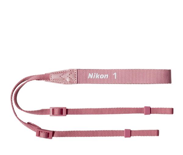 Nikon  Ремень AN-N1000 РозовыйРемни<br>Совместимые камеры: система Nikon 1<br><br>Тип: Ремень для фотокамеры<br>Цвет корпуса: Розовый