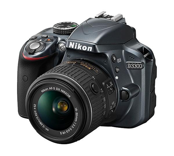 Nikon  D3300 Kit AF-S DX 18-55mm f/3.5-5.6G VRII Серебристый