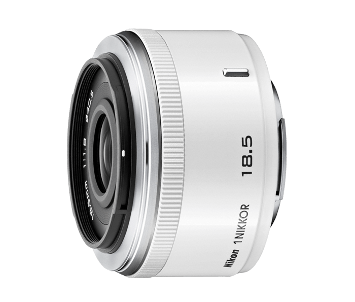 Nikon 1 NIKKOR 18.5mm f/1.8 Белый