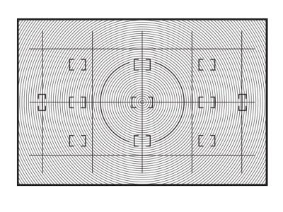 Nikon Сменный фокусировочный экран E для D2