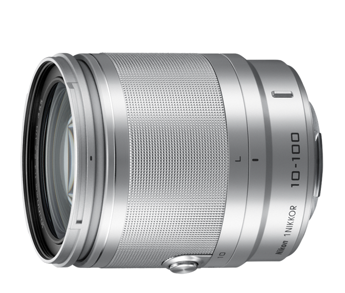 Nikon  1 NIKKOR VR 10-100mm f/4.0-5.6 Серебристый