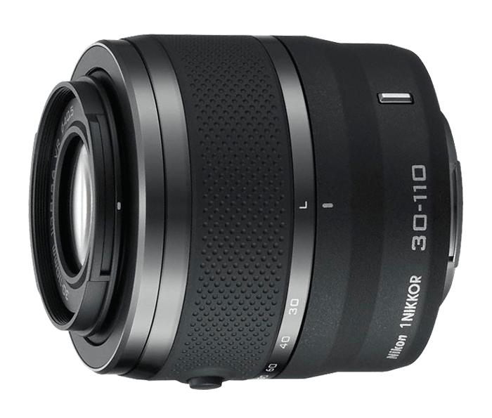 Nikon  1 NIKKOR VR 30-110mm f/3.8-5.6 ЧерныйТелеобъективы<br>Действительно портативный телефото зум-объектив 1 NIKKOR 30–110 мм – это идеальный объектив, который можно взять с собой для съемки в выходной день.<br> Благодаря 3,7-кратному увеличению можно легко приближать удаленные объекты. Это прекрасный спос...<br><br>Тип: Зум-объектив<br>Фокусное расстояние: 30-110 мм (81–297 мм в формате 35 мм)<br>Максимальная диафрагма: 3,8-5,6<br>Минимальная диафрагма: 16<br>Подавление вибраций: Да<br>Конструкция объектива: 18 элементов в 12 группах<br>Угол зрения: СX: 29°40–8°20<br>Минимальное расстояние фокусировки: 1,0 м<br>Количество лепестков диафрагмы: 7<br>Установочный размер фильтра: 40,5 мм<br>Цвет корпуса: Черный