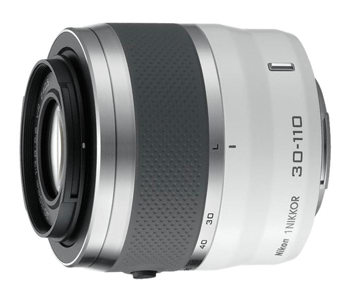 Nikon  1 NIKKOR VR 30-110mm f/3.8-5.6 Белый от Nikonstore.ru