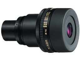 Nikon Окуляр (зум) к Fieldscope MC 13-40x / 20-60x / 25-75xОкуляры<br>При использовании со зрительными трубами Fieldscope серии ED50 / ED50 A :<br><br><br><br><br><br><br> Коэффициент увеличения: 13-40<br><br> <br><br><br> Угловое поле зрения (реальное/градусы): 3.0 при 13х<br><br> <br><br><br> Угловое поле зрения (видимое/градусы): 38.5 при 13х<br><br> <br><br><br> Поле зрения на 1000м (прибл): 52 при 13х<br><br> <br><br><br> Выходной зрачок (мм): 3.8 при 13х<br><br> <br><br><br> Относительная яркость: 14.4 при 13х<br><br> <br><br><br><br><br>  <br><br><br> При использовании со зрительными трубами Fieldscope серии III / III A / EDIII / EDIII A :<br><br><br><br><br><br><br> Коэффициент увеличения: 20-60<br><br> <br><br><br> Угловое поле зрения (реальное/градусы): 2.0 при 20х<br><br> <br><br><br> Угловое поле зрения (видимое/градусы): 38.5 при 20х<br><br> <br><br><br> Поле зрения на 1000м (прибл): 35 при 20х<br><br> <br><br><br> Выходной зрачок (мм): 3.0 при 20х<br><br> <br><br><br> Относительная яркость: 9.0 при 20х<br><br> <br><br><br><br><br>  <br><br><br> При использовании со зрительными трубами Fieldscope серии ED82 / ED82 A :<br><br><br><br><br><br><br> Коэффициент увеличения: 25-75<br><br> <br><br><br> Угловое поле зрения (реальное/градусы): 1.6 при 25х<br><br> <br><br><br> Угловое поле зрения (видимое/градусы): 38.5 при 25х<br><br> <br><br><br> Поле зрения на 1000м (прибл): 28 при 25х<br><br> <br><br><br> Выходной зрачок (мм): 3.3 при 25х<br><br> <br><br><br> Относительная яркость: 10.9 при 25х<br><br>Тип: Окуляр к зрительной трубе<br>Артикул: BDB90075