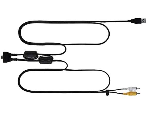 Nikon Аудио/Видео/USB-кабель UC-E12Аксессуары для подключения<br>Этот аудио/видео/USB кабель позволяет просматривать снимки, сделанные с помощью некоторых моделей фотокамер COOLPIX, на современных моделях телевизоров. При этом используется видеовход типа RCA. Загрузка снимков на компьютер осуществляется с помощью подключения через порт USB. <br><br>Совместимые продукты: COOLPIX S50, COOLPIX S51, COOLPIX S51c, COOLPIX S550, COOLPIX S700<br><br>Тип: Аудио/Видео кабель<br>Артикул: VDU10001